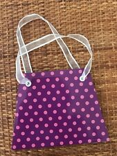 Note Pad Girls Purse Handbag Girls Purple Dot Blank Paper Notepaper Doodle Pad