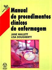 Manual de Procedimentos Clínicos de Enfermagem. ENVÍO URGENTE (ESPAÑA)