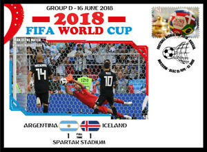 ARGENTINA V ICELAND 2018 FOOTBALL WORLD CUP GROUP D MATCH COVER - H HALLDORSSON