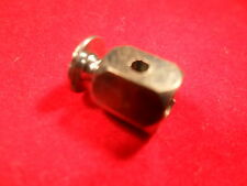Throttle control inner cable stop clamp.Pull cable stop.Mower.Go kart.Race.Drift