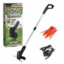 Cordless Lawn Mower Grass Trimmer Outdoor Retractable Weed Cutter Garden Tools
