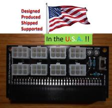 DPS-2400AB PCIe Adapter board: RC, HAM Radio, 12V Bench Supply, Antminer