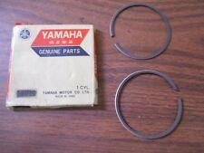 NOS 1974-1975 Yamaha MX175 .25 Piston Rings 455-11610-10
