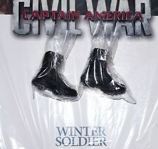 New Hot Toys Winter Soldier 1/6 Figure Boots Bucky Civil War MMS351 Military