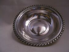 FABULOUS STERLING SILVER SCROLL EDFGE BOWL FOR NUTS OR CANDY