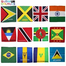 Show Your Colours Bandanas/Flags - Various Countries, Colours & Styles Available