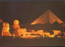 Egypt Postcard - Giza - Sound and Light at The Pyramids of Giza    T788
