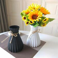 Plastic Vases Home Decoration Anti Ceramic Vases European Wedding Modern Decor