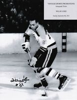 Willie O'Ree Autographed LA Kings Game Lineup Card | eBay