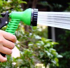 7 Functons Garden Spray Hose Nozzle Water Spray (hoselock gun) - Green