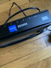 Linksys SD2008 8 port switch Router In Excellent Condition W/ Power Cable