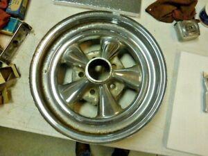 "Vintage Cragar 15"" x 4"" - 4 3/4 Chevrolet Racing Wheel GM Camaro Gasser Free Sh."