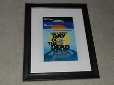 "Framed Day of the Dead 1985 Mini Poster, George A Romero USA Release 14""x17"""