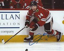 Chris Kunitz Signed 8x10 Photo Chicago Blackhawks Autographed COA