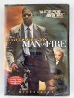 Man On Fire Denel Washington New Sealed DVD Widescreen Bilingual