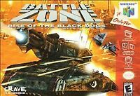 Battlezone Rise of the Black Dogs Nintendo 64 N64 Authentic Video Game Cart OEM