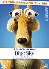 8 KIDS Family Movie Film Collection DVD  Horton Ice Age Epic Rio Animated Robots