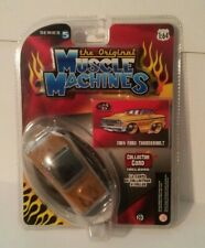 The Original Muscle Machines 1964 Ford Thunderbolt Series 5 Gold 1:64 New Sealed