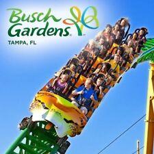 Busch gardens tampa theme park club passes for sale ebay - Busch gardens annual pass discounts ...