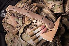 Hardcore Hardware Australia LFT-01 Tactical Tomahawk Tan Teflon Desert G-10 New