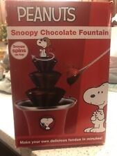 Snoopy Peanuts Chocolate Fountain Smart Planet
