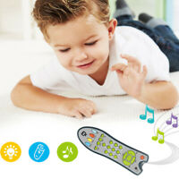 Baby Simulation TV Remote Control Kids Education Music English Learning Toy