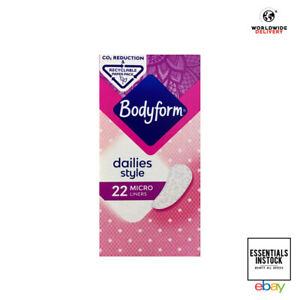 Bodyform Micro Pantyliners 22 Micro Daily Liners - Packaging May Vary
