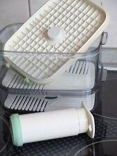 Genius Vakuum-Frischhalte-Dosen Behälter mit Einlegeböden und Pumpe