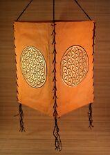 Lampenschirm aus Loktapapier ~ BLUME DES LEBENS ~ Nepal (1414)