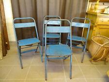 U2996 Biergartenklappstuhl Metal ~4 Stühle~ Beer Garden Chair~Folding Chair