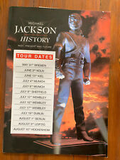 Michael Jackson History Tour Programme & T Shirt And Tickets