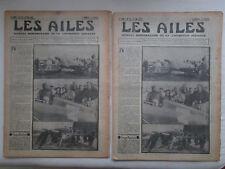 AILES 1935 727 CAUDRON COUPE DEUTSCH ADARO MOTEUR HYDRAVION URSS CANARIES POU