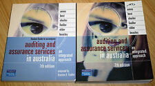 Auditing & Assurance Services In Australia + Student Guide 7th Edition - Pearson