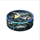 Skin Decal for Amazon Echo Dot 2 2nd generation / 3 Wolves Moonlight