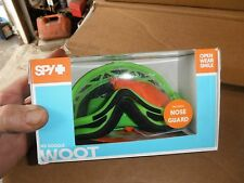 Spy Optic NEW Mx Woot  Dirt Bike Clear Lens Mono Green Motocross Goggles