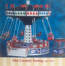 The Cosmic Swing by Lemax Village Collection Amusement Park Christmas Set