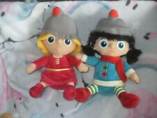 Migros Characters Dolls  Soft Plush Toys x 2 (A)