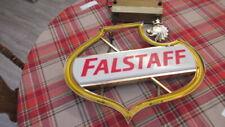 Vintage /Antique Falstaff Beer Neon Sign Works!