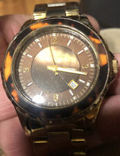 women gold michael kors watch