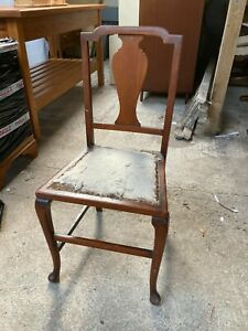 Vintage Antique Small Dining Kitchen Bedroom Chair Small Project