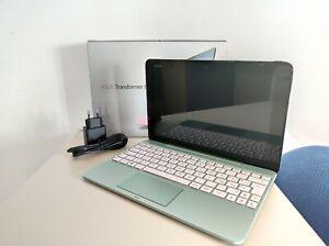 """ASUS Transformer Book T101H- 10.1"""" (Intel Atom Z8350, 4GB RAM, 64GB) Mint Green"""