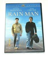 Rain Man Special Edition Widescreen DVD Dustin Hoffman, Tom Cruise NEW