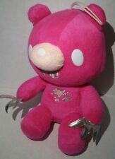 "Gloomy Bear 8"" Hot Pink Plush Anime Manga Silver White Scars Taito"
