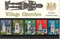 GB 1972 British Architecture Village Churches Presentation Pack 41