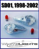 Weisse klare Front Blinker Honda Varadero XL 1000 V SD01 Baujahr 1998-2002
