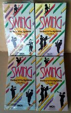 SWING / BEST OF THE BIG BANDS - VOLUMES 1,2,3,4 - (4) VHS TAPES - MCA - 1987