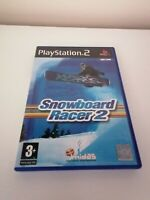 Playstation 2 ps2 games SNOWBOARD RACER 2 Complete Manual Winter Sports FREE P&P