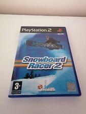 Playstation 2 ps2 Spiele Snowboard Racer 2 komplett manuelle Wintersport Free p&p