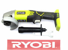 "RYOBI 18 V 18 VOLT 4-1/2"" INCH ANGLE GRINDER KIT SET CUT OFF TOOL P421"