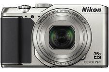 Nikon COOLPIX A900 20.0MP Digitalkamera - Silber (aktuellstes Modell), Neu